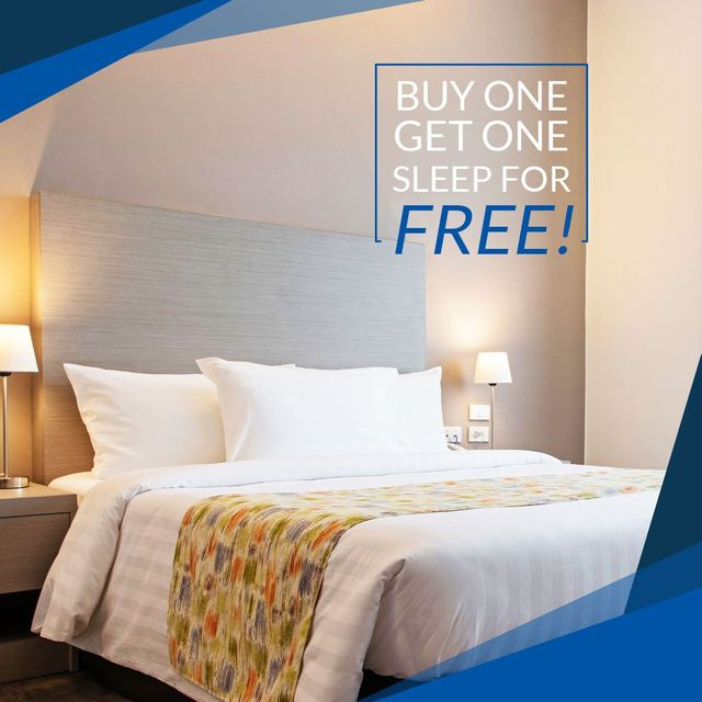 Buy One, Get One Sleep For Free!
