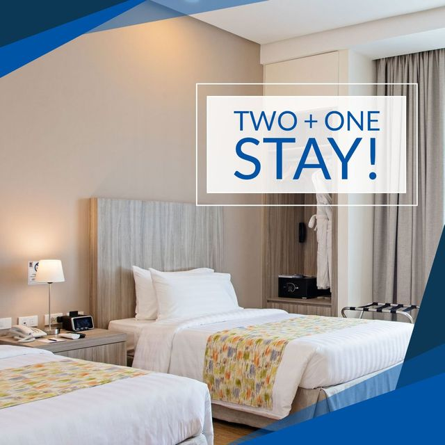 Two + One Stay!