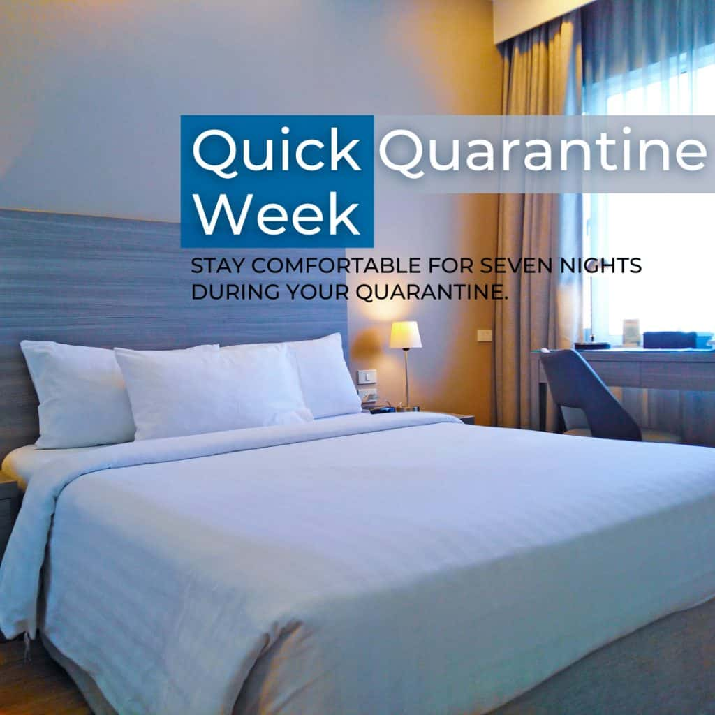 Quick Quarantine Week